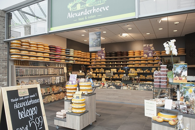 Alexanderhoeve Uithoorn winkelcentrum Zijdelwaard