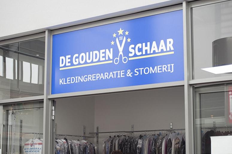 De Gouden Schaar Uithoorn winkelcentrum Zijdelwaard